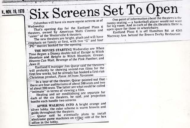Six Screens Set To Open