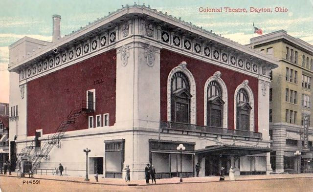 COLONIAL Theatre; Dayton, Ohio.
