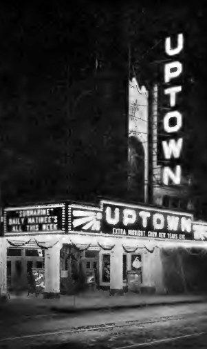 UPTOWN Theatre; Cleveland, Ohio.