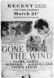 """Gone With the Wind"" at the Regent (Fox) Theatre, Newton, KS"
