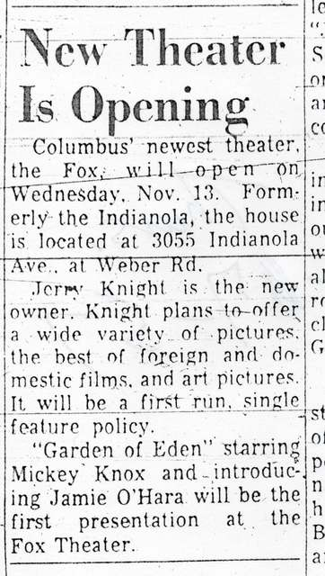 Columbus' newest theater