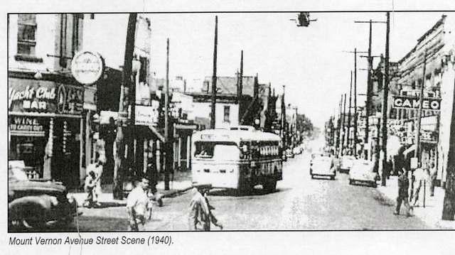 Mt. Vernon Ave. Street Scene (1940)