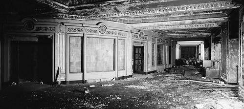 GRANADA Theatre; Chicago, Illinois after closure.