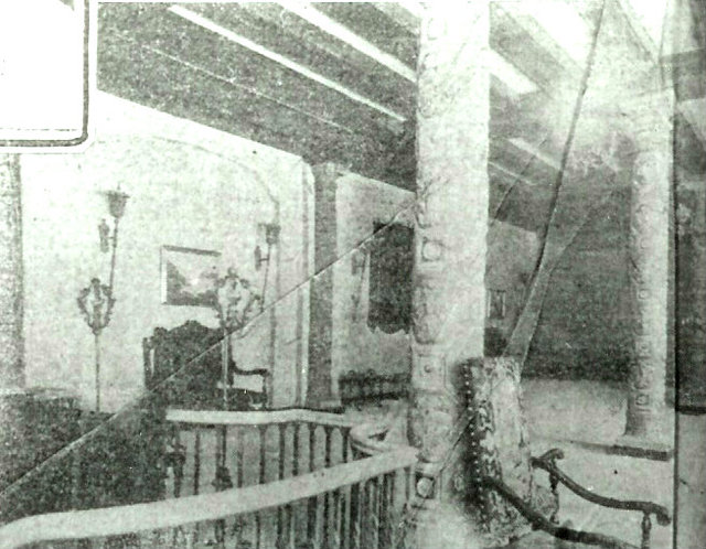 KENOSHA Theatre mezzanine; Kenosha, Wisconsin, 1927.