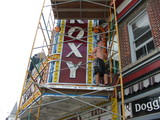Marquee repainting in Oct. 2012