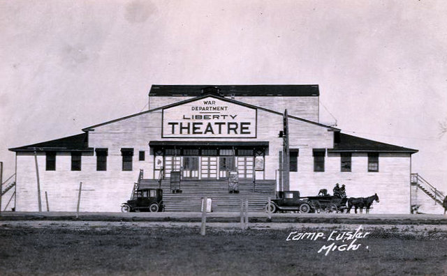 LIBERTY Theatre, Camp Custer, Battle Creek, Michigan.