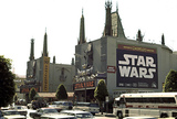 "<p>Grauman's Chinese Theater's Engagemement for ""Star Wars""</p>"