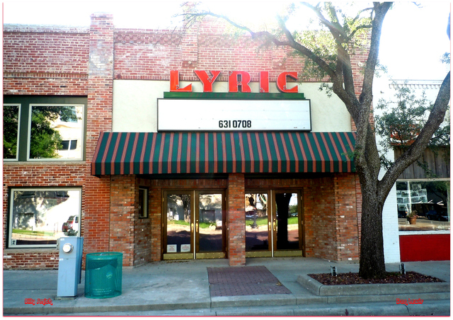 Lyric Theatre...Eastland Texas