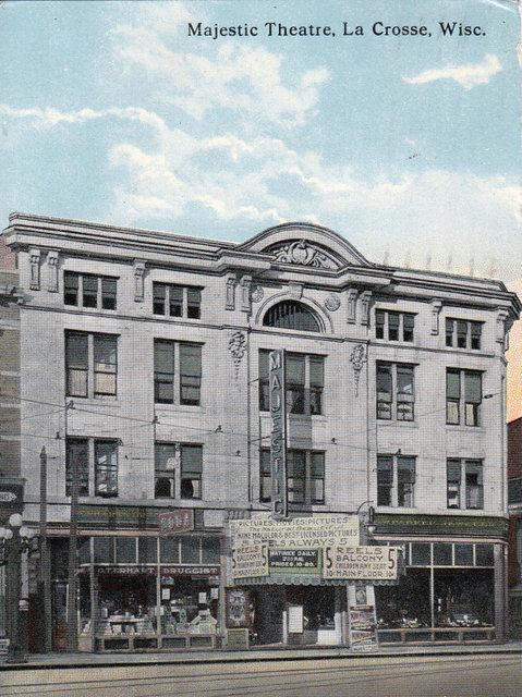 MAJESTIC (WISCONSIN) Theatre; La Crosse, Wisconsin.
