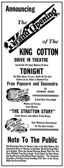 King Cotton Drive-In