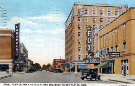 FOX Theatre; North Platte, Nebraska.