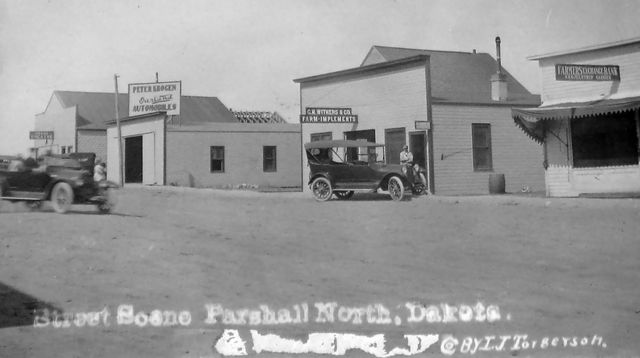 GRAND Theatre; Parshall, North Dakota, 1915.