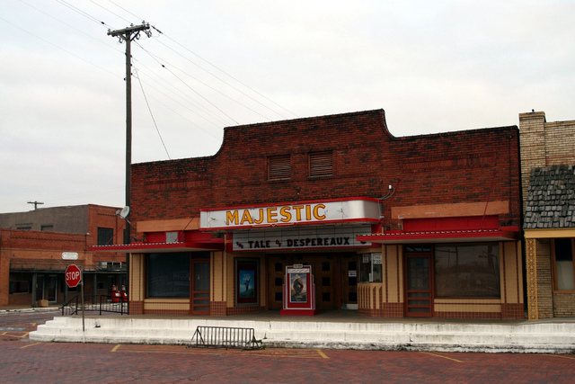 Majestic Theater in Wills Point, Texas