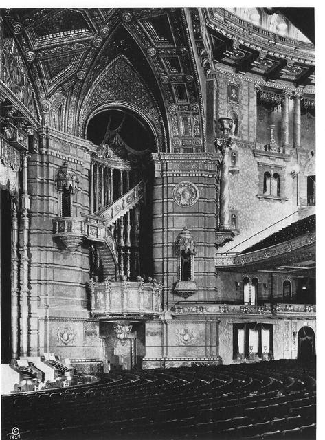 ROXY Theatre auditorium 1927