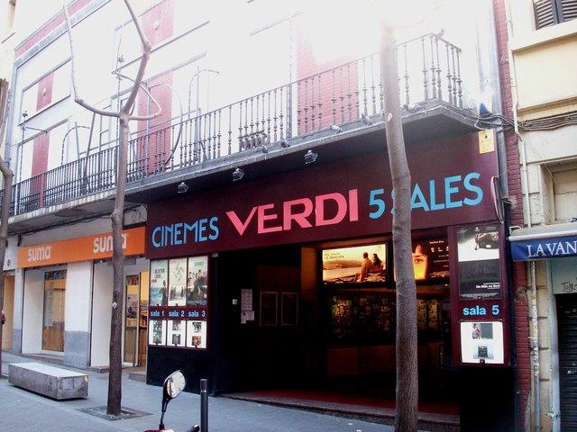 Cine verdi in barcelona es cinema treasures - Balmes multicines ...