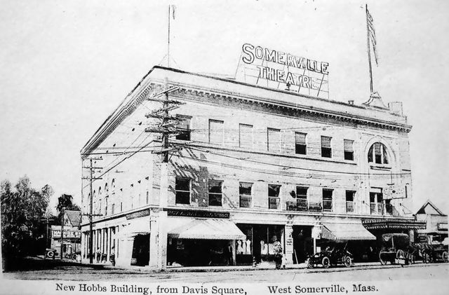 SOMERVILLE Theatre; Somerville, Massachusetts.