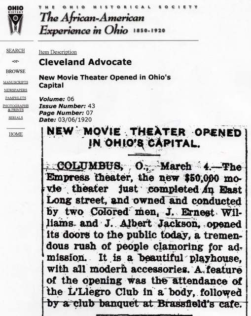 New Movie Theater...