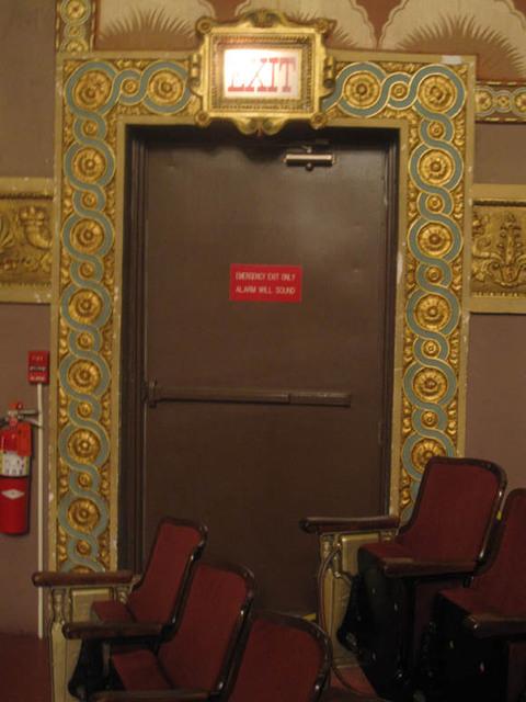 Renaissance Theatre (Mansfield, OH) - Exit Door