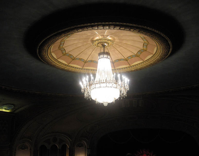 Renaissance Theatre (Mansfield, OH) - Auditorium Ceiling Cove