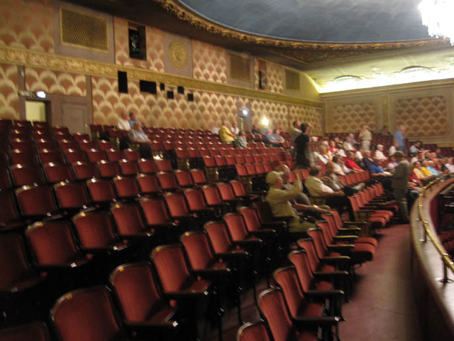 Renaissance Theatre (Mansfield, OH) - back part of auditorium