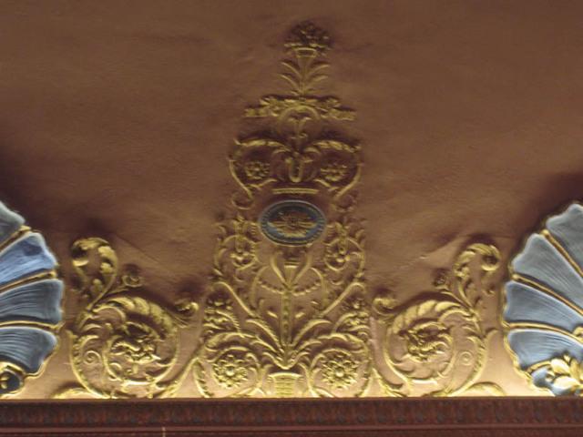 Renaissance Theatre (Mansfield, OH) - Auditorium ornamentation
