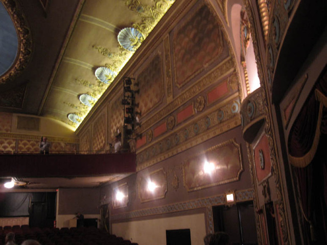Renaissance Theatre (Mansfield, OH) - Left aud sidewall from stage