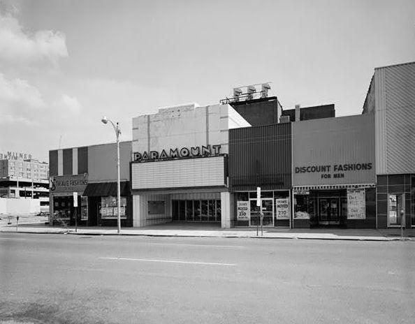 PARAMOUNT Theatre; Jackson, Mississippi.