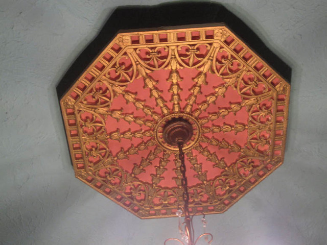 Renaissance Theatre (Mansfield, OH) - Main Lobby ceiling cove detail