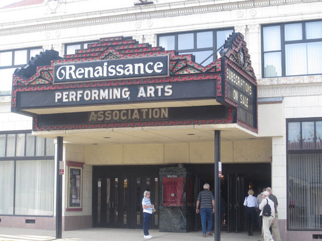 Renaissance Theatre (Mansfield, OH) - Marquee