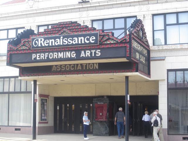 Renaissance Theatre (Mansfield, OH) - Marquee