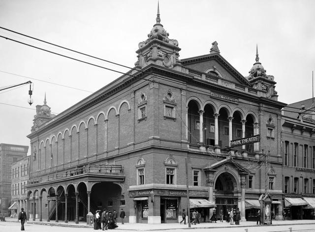 PARK (STRAND, CAPITOL) Theatre; Indianapolis, Indiana.