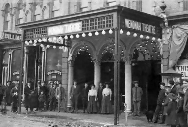 WENONAH Theatre; Bay City, Michigan.
