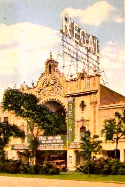 REGAL Theatre; Chicago, Illinois.