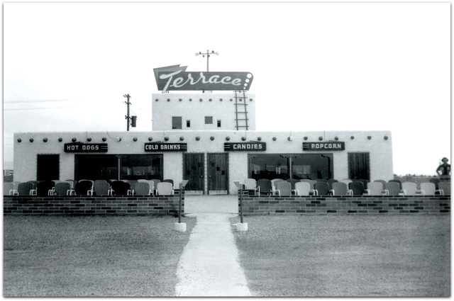 "Terrace Drive-In©  Albuquerque NM...R.A. ""Skeet"" Noret"