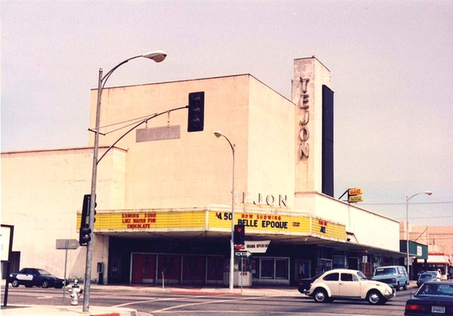 Tejon Theatre at Northwest corner of Baker & Monterey Streets circa about 2007