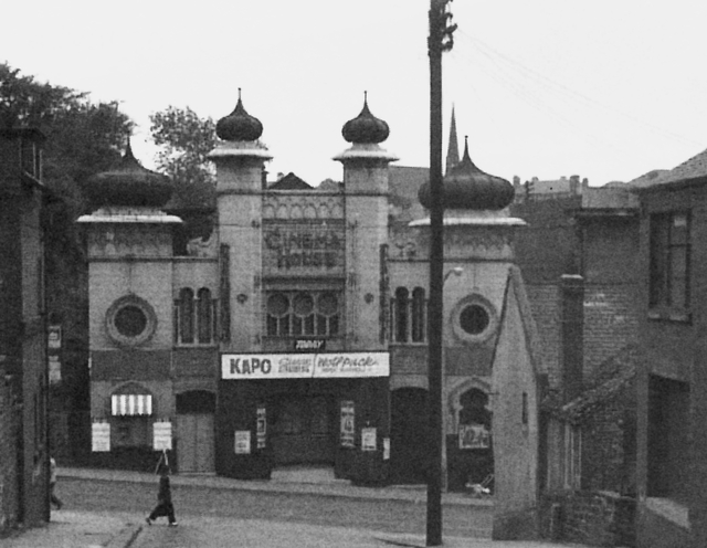 Cinema House, Doncaster Gate, Rotherham - very early 1960s