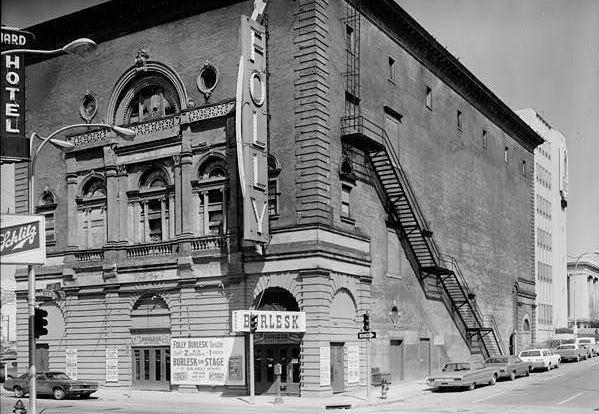 FOLLY Theatre; Kansas City, Missouri.
