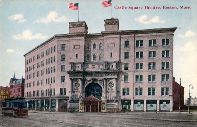 CASTLE SQUARE Theatre; Boston, Massachusetts.