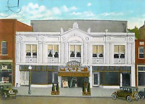 DeSOTO Theatre; Rome, Georgia.