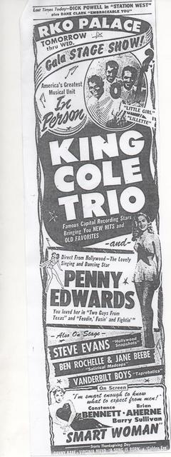 In Person - King Cole Trio