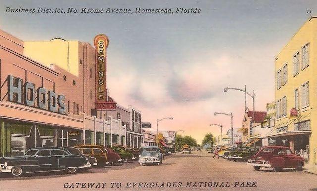 SEMINOLE Theatre; Homestead, Florida.