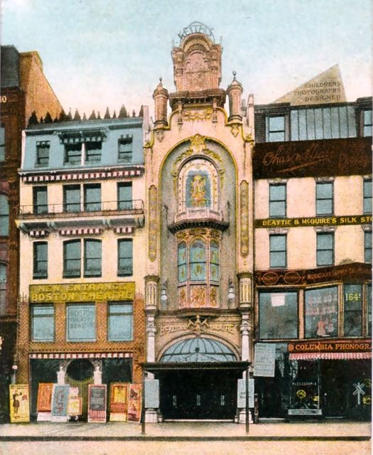 B. F. KEITH'S (APOLLO, LYRIC, NORMANDIE, LAFFMOVIE) Theatre; Boston, Massachusetts.