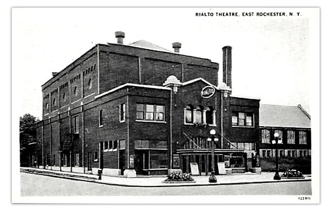 Rialto(Capri) Theatre...East Rochester NY