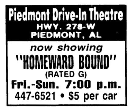 Piedmont Drive-In