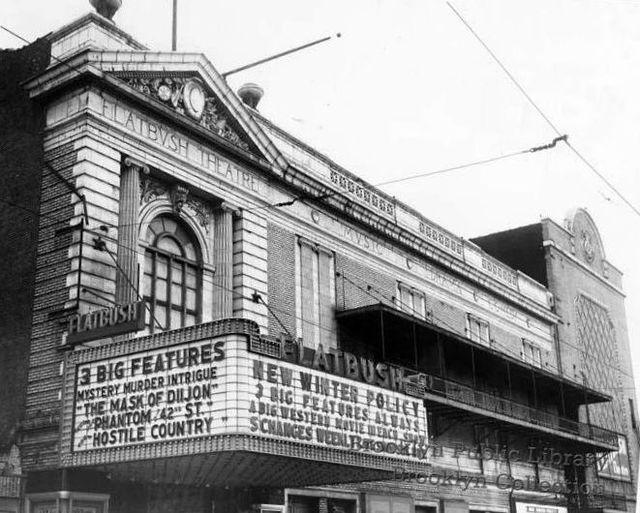 FLATBUSH Theatre; Brooklyn, New York.