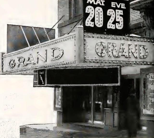 GRAND Theatre; Masillon, Ohio.