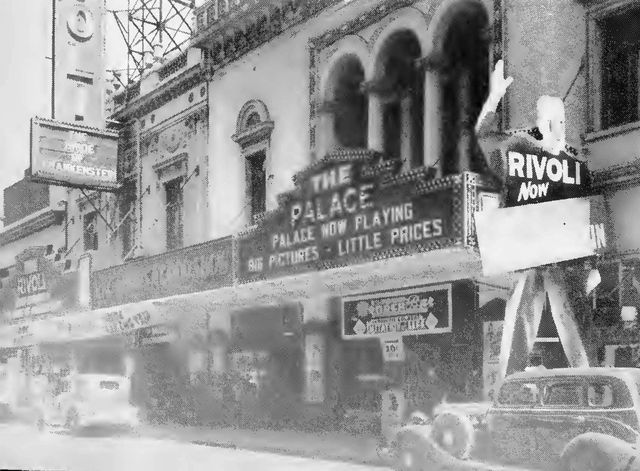 PALACE and RIVOLI Theatres; Toledo, Ohio.