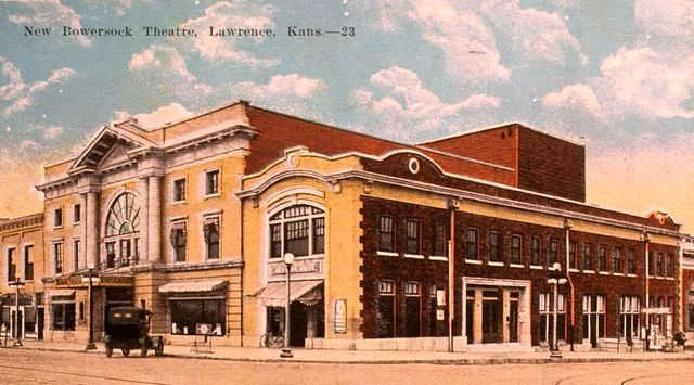 BOWERSOCK (LIBERTY HALL) Theatre; Lawrence, Kansas.