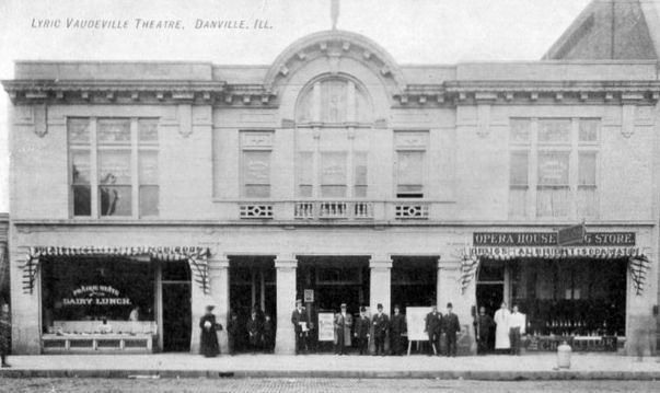 PALACE (nee LYRIC) Theatre; Danville, Illinois.