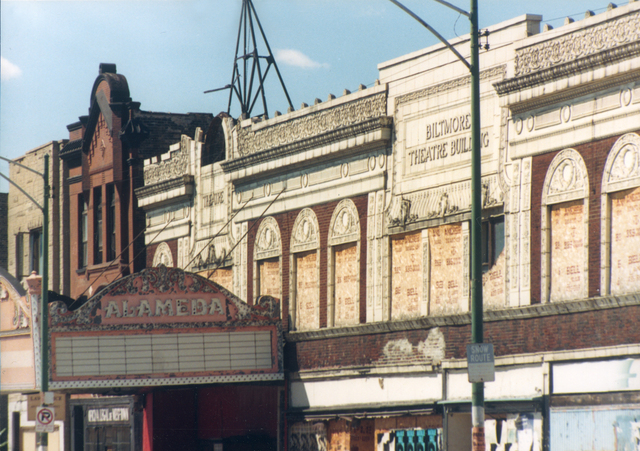 Biltmore Theater, aka Teatro San Juan & Alameda, August 1989